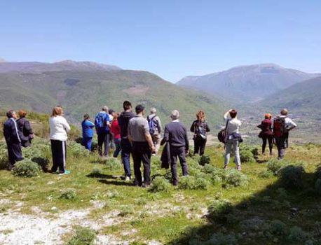 Escursionismo e rete digitale nell'Appennino